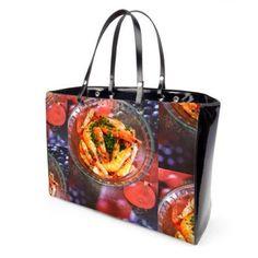 Patent Vinyl Handbag