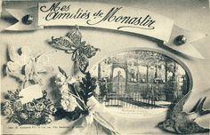 WW1 Postcards issued for the Christmas holidays and Valentine's Day – Bitola 1917 - Macedonia 1912-1918