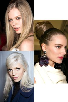 From nude lips to tousled twists, fall's prettiest makeup and hair trends to try now.