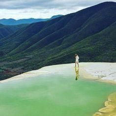 Oaxaca. Hierve el agua