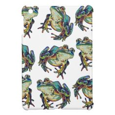 Funky FROG PARTY Case For The iPad Mini - party gifts gift ideas diy customize