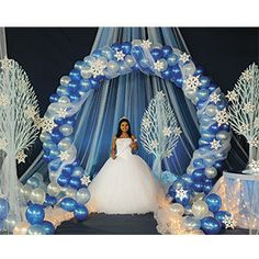 quinceanera winter wonderland theme images | Winter Wonderland Theme -- Uniquely-Quince - Polyvore