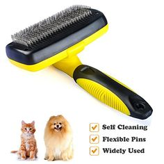 cat shedding wipes - Self Cleaning Slicker Brush, Ztent Pet Grooming Brushes Gentle Shedding Grooming Tools for Dogs, Cats, Pets Long Thick Hair -- Details can be found by clicking on the image. (This is an affiliate link) Dog Grooming Supplies, Cat Grooming, Pet Supplies, Cat Shedding, Pet Travel, Pet Accessories, Pet Care, Thick Hair, Brushes