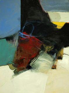 <b>Converge #1</b><br>Acrylic on Canvas, 40 x 30<br>Available