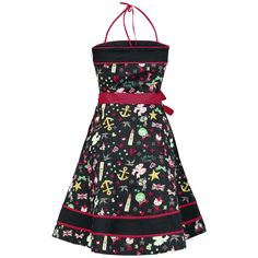 Petty-Catty Dress - Kleid von Pussy Deluxe - Artikelnummer: 216100 - Ab 39,99 € - EMP Merchandising • Rock & Metal Online Shop