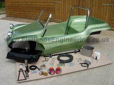 Flatlands Kit Image Kit 3 Vw Beach, Beach Buggy, Vw Dune Buggy, Dune Buggies, Vw Cars, Pedal Cars, Drift Trike, Automotive Decor, Manx