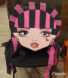 Piñata de Draculaura - monster high