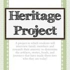 A project in which students will interview family members and research their ancestry to determine the artifacts, stories, foods, and journeys that...