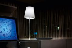 Lucilla lampička světlá s kovovou lakovanou konstrukcí / lamp Lighting, Design, Home Decor, Decoration Home, Room Decor, Lights, Home Interior Design, Lightning