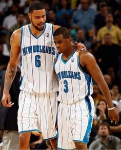 0285f0ddcf6 CP3 The Hornets days. Tyson Chandler