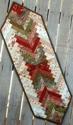 Christmas Braid Table Runner Inspiration.
