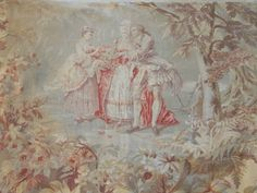 Antique French Chateau Curtain for Furnishing Project 148 x 60 Ins 2nd Curtain | eBay