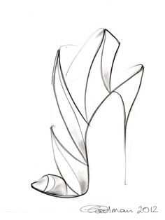 Georgina Goodman Shoe Sketch