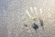 Francis Leavy's handprint - Leavy's grim premonition came true.