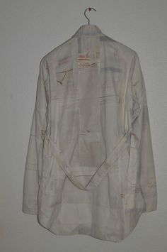 """Raf Simons """"Security Check"""" Spring Summer 2008 Coat."""