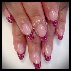 Young Nails glitterfrench