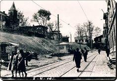 Kurbağalıdere istikametinden Altıyol Boğa heykeline çıkış Kadıköy - 1941