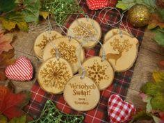 Zaproszenia ślubne laserowe, drewniane dodatki i dekoracje Save The Date, Christmas Ornaments, Holiday Decor, Christmas Jewelry, Wedding Invitation, Christmas Decorations, Christmas Decor