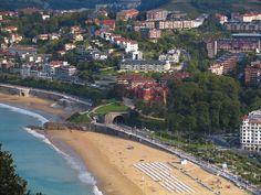 Vista de Donostia- San Sebastián desde Miramar