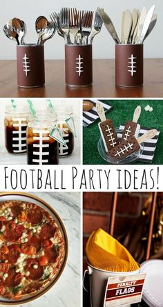Football Party Ideas!                                                                                                                                                                                 More
