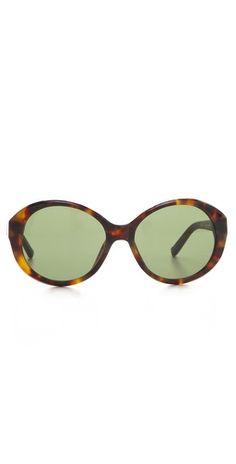 26a5c35c25f77 Leather Jackie O Sunglasses