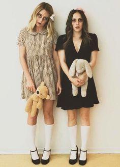 Lauren Conrad as a zombie doll - click through for more pop culture fashion Halloween costume idea ideas!