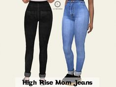 The Sims 4 High Rise Mom Jeans
