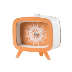 Discover+the+Diamantini+&+Domeniconi+Square+Machine+Alarm+Clock+-+Orange+at+Amara