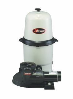 Hayward CC10092S Above-Ground Xstream 100-Square-Foot 1-Horsepower Full-Flow Element Filter System