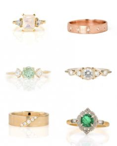 From affordable to luxurious, these are our favorite places to shop for engagement rings, wedding bands & bridal jewelry in every style & budget. #engagementring #proposal #diamond #diamondring #engagement #rings Audry Rose – The Best Places to Buy Engagement Rings and Wedding Bands Online Grey Diamond Engagement Ring, Buying An Engagement Ring, Gemstone Engagement Rings, Deco Engagement Ring, Perfect Engagement Ring, Diamond Wedding Bands, Wedding Engagement, Fine Wedding Jewelry, Bridal Jewelry