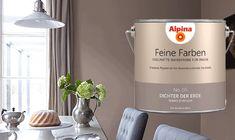 Alpina Feine Farben No 5 Dichter Der Erde Perfekt Fur Den Essbereich Diese Wandfarbe Bringt Ruhe Und Gemutl Wandfarbe Feine Farben Farben Und Tapeten