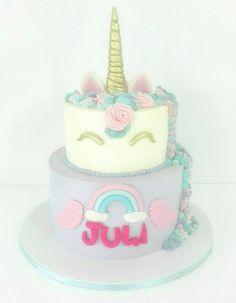 Two tiered Unicorn cake