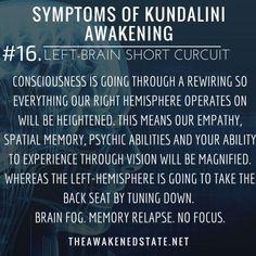theawakenedstate:  Symptoms of Kundalini Awakening#16. Left-... personal development consciousness