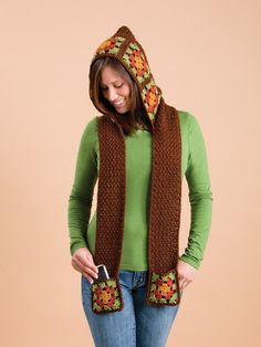 Scoodie!!! Its a hoodie and scarf all together, I cannot wait to try and make this myself.