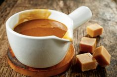 Make your own salted caramel sauce to use in a variety of recipes - Salted Caramel Hot Chocolate