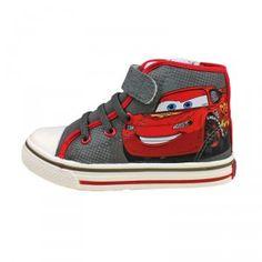 Zapatillas lona bota #Cars #Disney Neon 31(2)-32(2)-33-34, por sólo 14.51€!