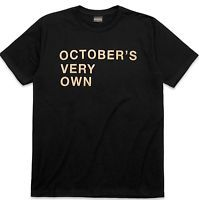 OVO NEW Authentic OVO Stacked OCTOBER'S VERY OWN Gold T Shirt (L) Owl DRAKE NEW!