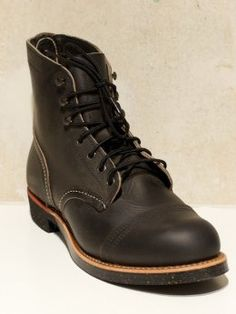 Red Wing Iron Ranger Charcoal Rough Tough - Denim Heads - Only The Best a91469695d