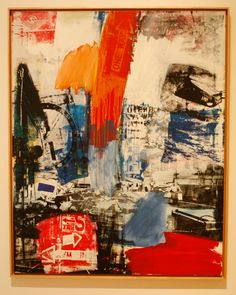 robert rauschenberg: oil and silkscreen on canvas Robert Rauschenberg, Tachisme, Jasper Johns, Willem De Kooning, Franz Kline, David Hockney, Jackson Pollock, James Rosenquist, Pop Art Movement