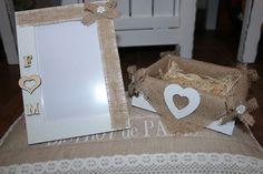 #promessadimatrimonio #svuotatasche #portafotografie #shabbychic #handmade #fattoamano un'idea creativa