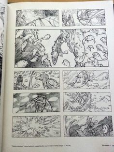 Iain McCaig storyboards