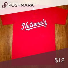 Washington Nationals Tee Washington Nationals Tee ‼️Taking Offers‼️ Majestic Shirts Tees - Short Sleeve