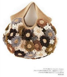 Вязаная сумочка. Crochet bag.  DIY tutorial.