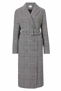 Check Coat   Clothing