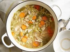 Chicken and Dumpling Soup with Quinoa - could make this with gf flour
