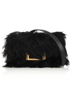 b784e960a25f Saint Laurent - Lulu alpaca and leather shoulder bag