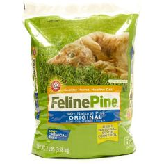 Feline Pine  Original Cat Litter 7-Pound Bags