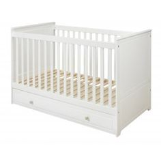 Classique Convertible Cot Bed With Drawer 70 X 140