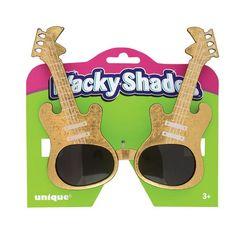 Guitar Novelty Glasses