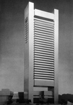 Hugh Stubbins and Associates, Federal Reserve Building, Boston,Massachusetts, 1976